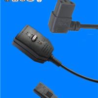 供应广东大功率品字尾16A电源线插头