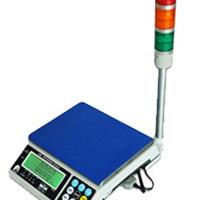 带三色报警电子桌秤,7.5公斤报警桌秤
