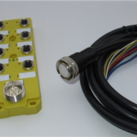 供应M12型,I/O总线分线盒