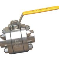 锻钢三片式高压球阀(Q61N、Q11N)