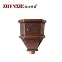 供应北京铜雨水斗 别墅铜漏斗