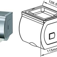 供应不锈钢小卷纸箱/小卷纸巾箱