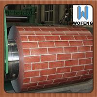 供应岩棉板用印花彩钢板