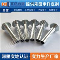 供应铁镀镍铆钉、铁镀锌铆钉、半空心铆钉