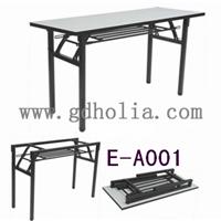 折叠会议桌,折叠台架,条形招聘桌,广东厂