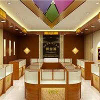 上海珠宝店设计 珠宝店装修 珠宝柜设计制作