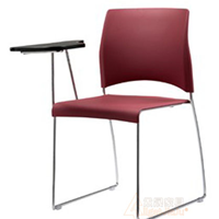 供应品牌培训椅,塑料速写椅,带写字板椅