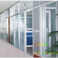 宁波铝合金隔断钢化玻璃高隔间办公室隔断墙