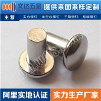 深圳铆钉厂家直销GB871扁圆头实心铆钉