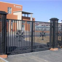 供應津南區鐵藝大門,鐵藝平移門,鐵藝圍欄