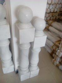 广西白栏杆花岗岩大理石石雕异性栏杆
