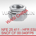 WASI NFE25411锁紧螺母不锈钢/碳钢8/10