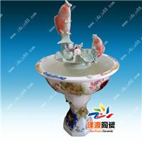 供应陶瓷鱼缸喷泉 陶瓷室内装饰喷泉