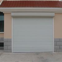 上海电动伸缩门安装,遥控车库卷帘门生产