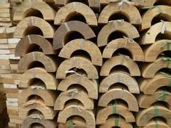供应异形空调管道木托,管道管托