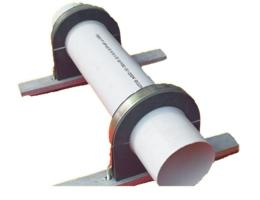 供应铜陵中央空调木托-保冷管托