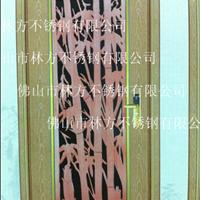 不锈钢竹子门花,3-6mm镂空雕花高档门花