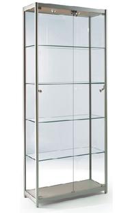 供应精品展示柜 玻璃射灯展柜 珠宝首饰展柜