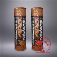 供应校庆礼品陶瓷箭筒,景德镇陶瓷大箭筒