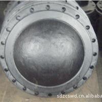 供应高质量球墨铸铁管件 盲板法兰DN400