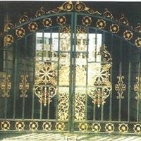 别墅大门、铁艺大门厂家、庭院大门