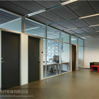 内蒙古高隔间铝型材 包头办公隔断铝型材
