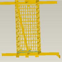 供应玻璃钢梯子间 矿用玻璃钢梯子间