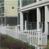 绿化带Pvc护栏 花园草坪护栏 公园园艺护栏