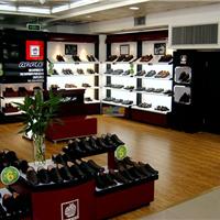 供应娄底鞋类展柜定做,长沙鞋柜展柜厂家