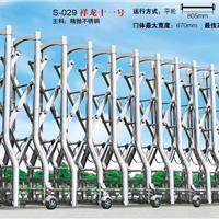 供应工厂电动伸缩门 材料厚才是硬道理