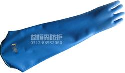 供应苏州劳保用品 E-LHA22 耐强酸碱手套