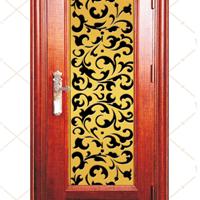 供应厂家新款木纹系列不锈钢转印门FB-6625