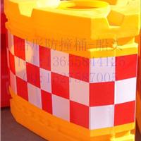 防撞塑料墩 中空注水防撞墩 三联组防撞块