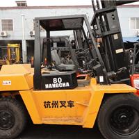 供应杭州二手叉车二手叉车8吨出售