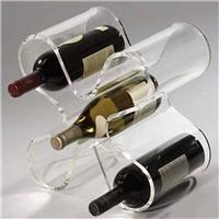 供应西安压克力红酒架展示架设计批发