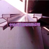 高隔断铝型材钛镁铝型材办公室隔断型材