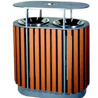 佛山南海顺德高明三水钢木分类垃圾桶