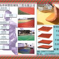 青岛塑胶地板、塑胶跑道、球场及施工