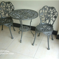 供应ZH-Y7002欧式双人组合桌椅