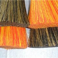 供应优质PVC混色刷毛 高档开绒丝 PVC双色丝