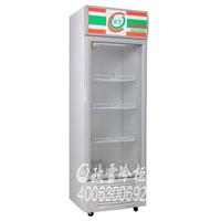 供应福清四面透明玻璃直立展示冷柜价格