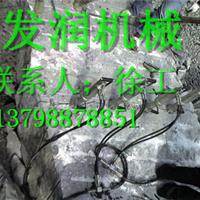 供应露天开采矿石设备液压分裂机