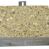 供应湖北黄麻超薄石材饰面防火保温装饰板