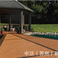 永州生态木塑木地板WPC木塑再生木PVC长城板