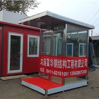 供应大连岗亭,富华玻璃优质岗亭提供商