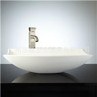 广州汉晶直销洁具人造石洗手盆整体浴室台盆