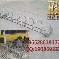 单车自行车停车架插入式存放