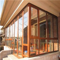 铝包木窗能使用多久