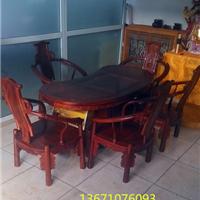 老挝红酸枝茶桌丨红酸枝多功能茶桌