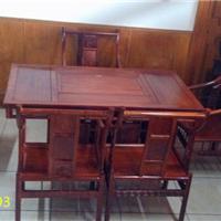非洲黄花梨木茶台丨红木茶桌